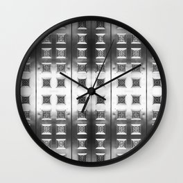 Courting Metal Wall Clock