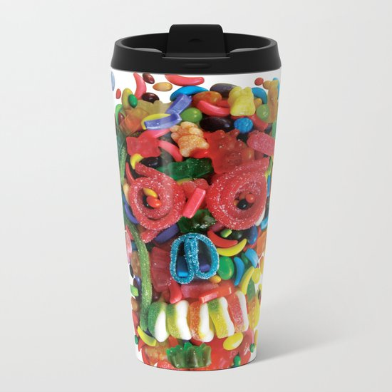 Death and Tooth Decay Metal Travel Mug