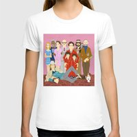 tenenbaums T-shirts featuring Royal Tenenbaums Family Portrait  by AnaMF