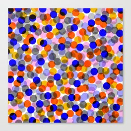 Colour Bubbles 01 Canvas Print