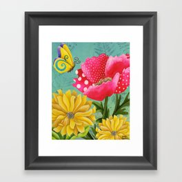 Wondrous Garden Framed Art Print