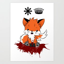 Chaos Reigns Art Print