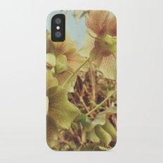 Spring Hellebore iPhone X Slim Case