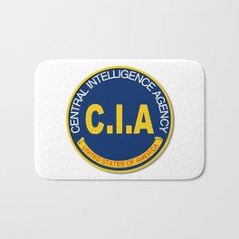 CIA Logo Mockup Bath Mat