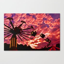 Summer Swing Canvas Print