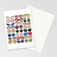 Sunglasses by Veronique de Jong Stationery Cards