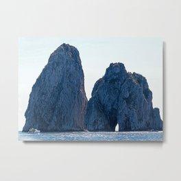Faraglioni of Capri Metal Print