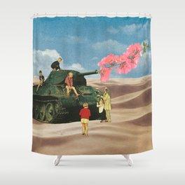 Love Not War Shower Curtain