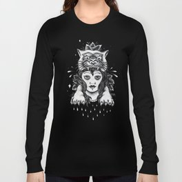 Chica tigre Long Sleeve T-shirt