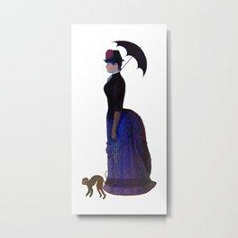 Lady with a Parasol Metal Print
