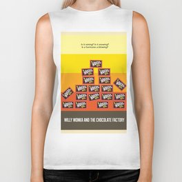 Willy Wonka And The Chocolate Factory Biker Tank