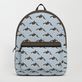 Whale Abstract Design Backpack