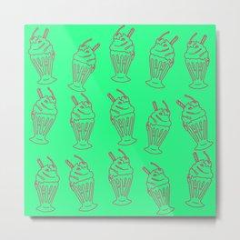 Milkshake #7 Metal Print