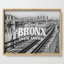 Bronx New York 'New Yawhk' Est. 1788 Serving Tray