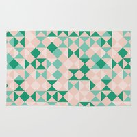 emerald Area & Throw Rugs featuring Emerald  by Leandro Pita