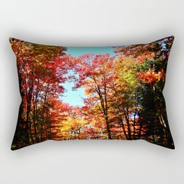 Fall Forest Delight Rectangular Pillow