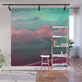 Green sky in the morning, everything is fine Wall Mural