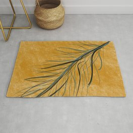 Fall feather Rug
