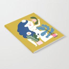 Blue Plant Lady Notebook