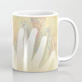 Healing Hands Yellow Coffee Mug