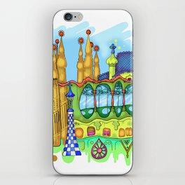 Barcelona iPhone Skin