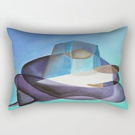 Mary and The Baby Messiah Rectangular Pillow