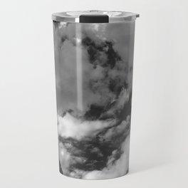 Lake Louise Black and White Minimalism Photography   Black and White   Photography Travel Mug