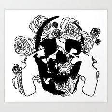 Love Vs. War Art Print