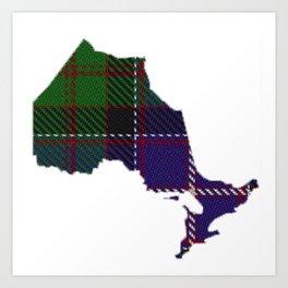 Ontario Art Print