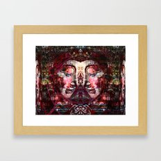 TWIN Buddha 09-05-2010 Framed Art Print