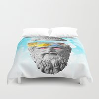 rocky Duvet Covers featuring Rocky Intent by Tyler Spangler