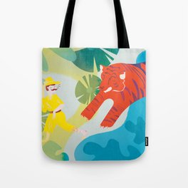 The Tyger Part 2 Tote Bag
