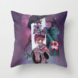The Dreamteller of Sleeparalysis Throw Pillow