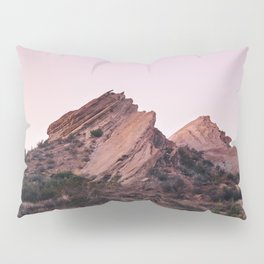 Desert Landscape at Magic Hour Pillow Sham