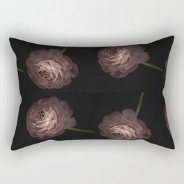 Concept of Buttercup's frame. Artistic effect. A pattern of flowers Rectangular Pillow