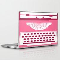 typewriter Laptop & iPad Skins featuring Typewriter by Debra Ulrich