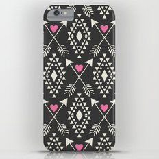Tribal Aztec with Hearts & Arrows Slim Case iPhone 6 Plus