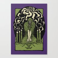 occult Canvas Prints featuring Occult by Art of Kadath