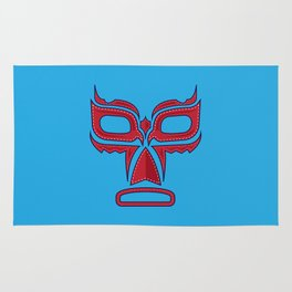 Luchador Mask Good Guy Rug