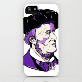 Composer Richard Wagner iPhone Case