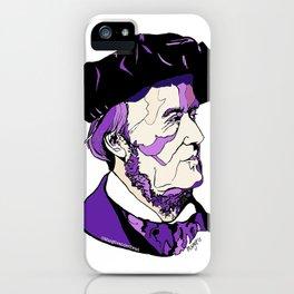 Composer Richard Wagner iPhone Case