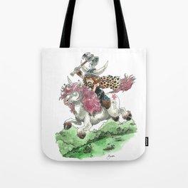 Barbarian Unicorn Tote Bag