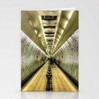 velvet underground Stationery Cards featuring Underground by Svetlana Sewell