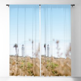 Travel photography Palos Verdes VI Lighthouse Blackout Curtain