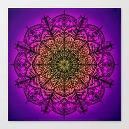 Delicate Mandala Canvas Print