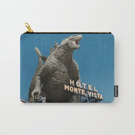 Gojira Visits Heart of America Carry-All Pouch