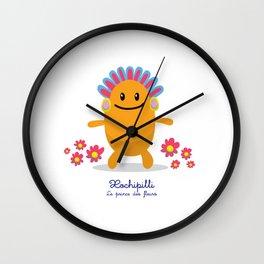 Xochipilli - Le prince des fleurs (Lil Gods) Wall Clock