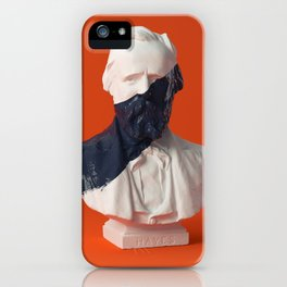 paint on Gypsum statue [03] iPhone Case