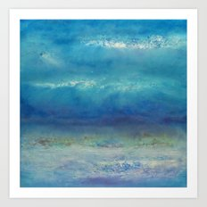 Infinity Beyond The Blue Art Print