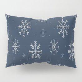 Artistic snowflakes pattern Pillow Sham